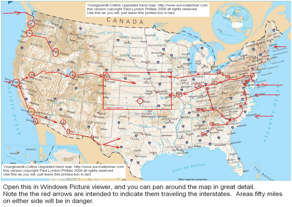 Us Interstate And Highway Map Usa Interstate Highways Map Refrence inside Printable Us Map With Interstate Highways