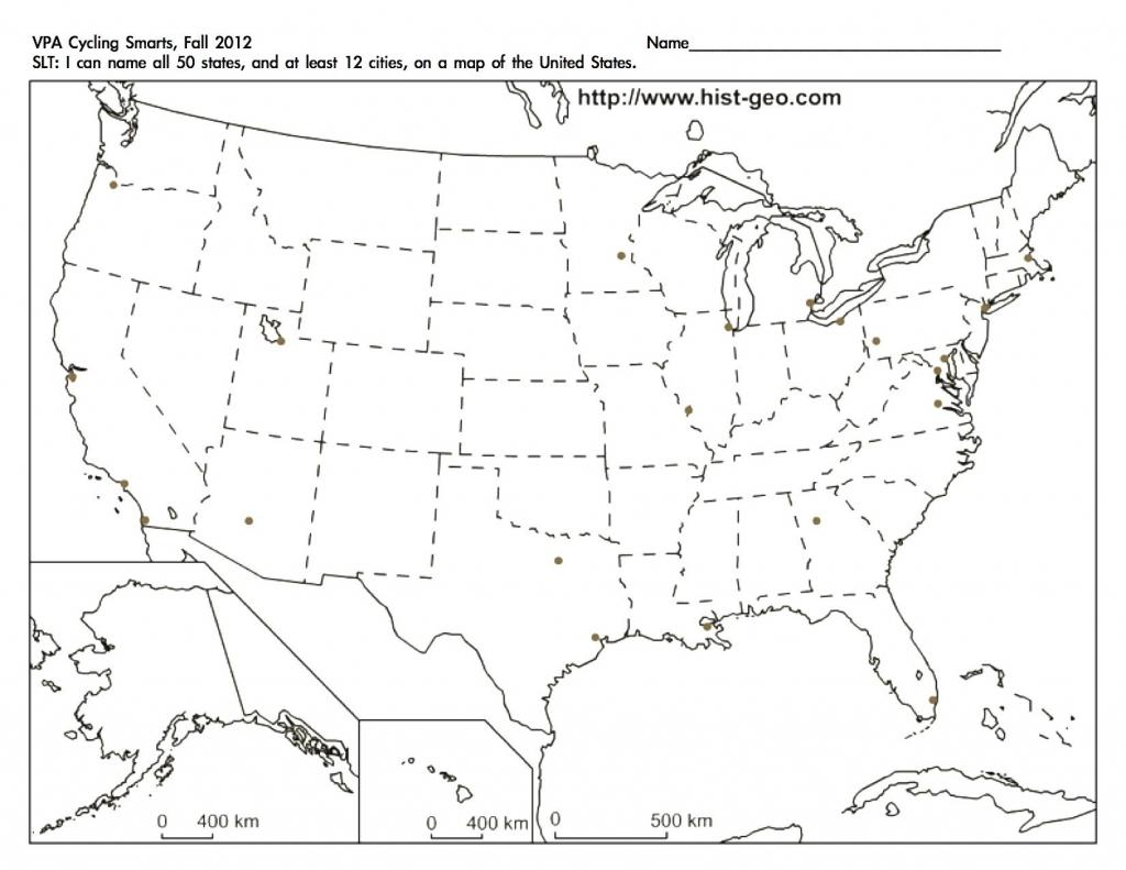 Us Map Mercator Projection Usa Unique Printable Us Map Full Page within Blank Printable Usa Map