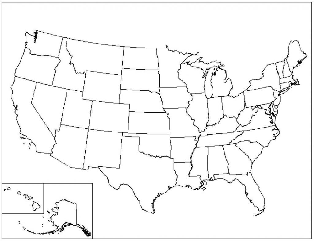 Us Map Printable Pdf Blank Us State Map Printable Printable United within Usa Map Printable Pdf