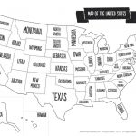 Us Map The South Printable Usa Map Print New Printable Blank Us In Printable Us Map With States