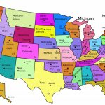 Us Map With Names Printable Usa Namesprint Lovely Best Maps The Within Printable Map Of The United States Of America