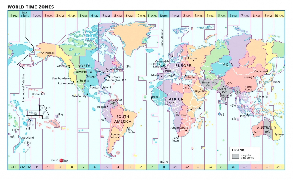 Us Map With Time Zone Lines World Longitude And Clock | Original regarding World Time Zone Map Printable Free