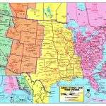 Us Maps Time Zone And Travel Information   Download Free Us Maps With Maps With Time Zones Printable
