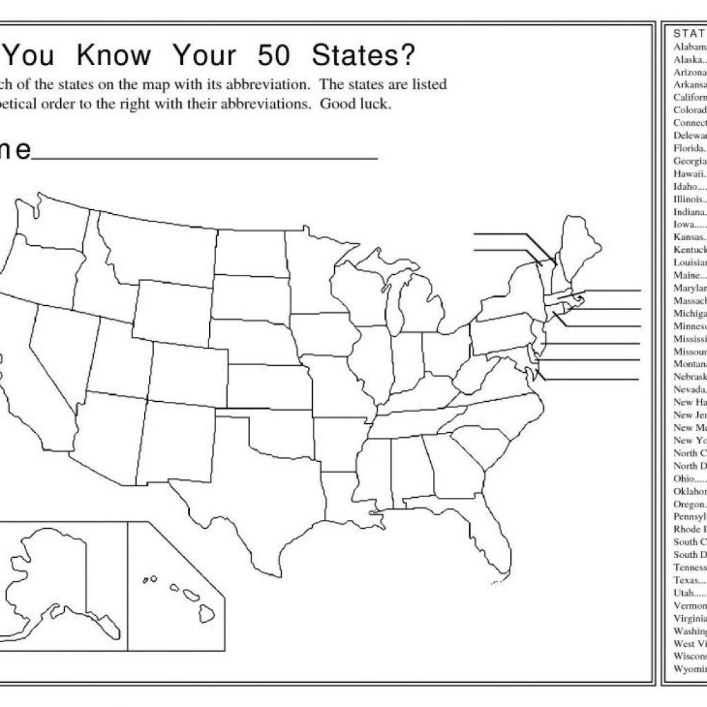 Us State Map Quiz Printable Lizard Point intended for Us State Map Quiz Printable