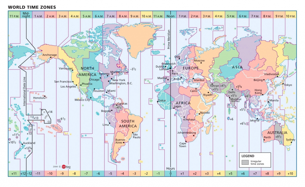 Us Time Zones Printable Map Valid Google World Copy Timezone for Maps With Time Zones Printable
