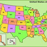 Usa State Abbreviations Map Intended For Printable State Abbreviations Map