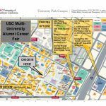 Usc Multi University Alumni Career Fair Parking Map | Career Center Intended For Usc Campus Map Printable