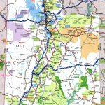 Utah Road Map Throughout Utah State Map Printable