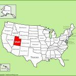 Utah State Maps | Usa | Maps Of Utah (Ut) Regarding Utah State Map Printable