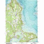 Vashon Topographic Map, Wa   Usgs Topo Quad 47122D4 In Vashon Island Map Printable
