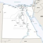 Vector Map Of Egypt Political | One Stop Map Inside Printable Map Of Egypt
