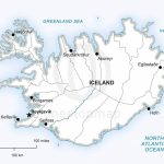 Vector Map Of Iceland Political | One Stop Map In Maps Of Iceland Printable Maps