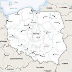 Vector Map Of Poland Political | One Stop Map Pertaining To Printable Map Of Poland
