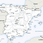 Vector Map Of Spain Political | One Stop Map Within Free Printable Custom Maps