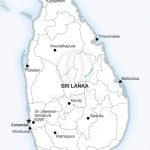 Vector Map Of Sri Lanka Political | One Stop Map Pertaining To Printable Map Of Sri Lanka