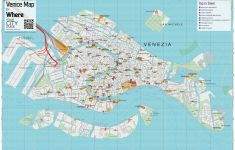 Street Map Of Venice Italy Printable