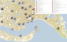Venice Printable Tourist Map | Sygic Travel with regard to Printable Map Of Venice Italy