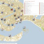 Venice Printable Tourist Map | Sygic Travel Within Street Map Of Venice Italy Printable