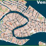 Venice Street Map Great Street Map Of Venice Italy Printable Inside Venice Street Map Printable