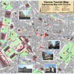 Vienna Tourist Attractions Map In Vienna Tourist Map Printable
