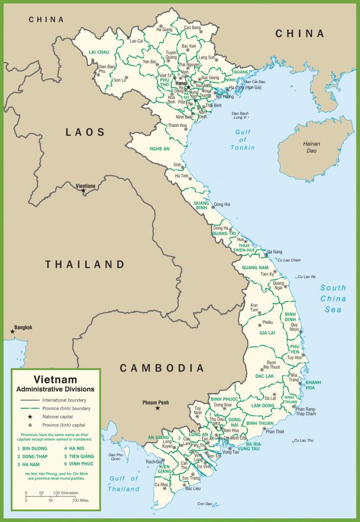 Vietnam Maps | Maps Of Vietnam inside Printable Map Of Vietnam