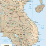 Vietnam Maps   Perry Castañeda Map Collection   Ut Library Online With Printable Map Of Vietnam