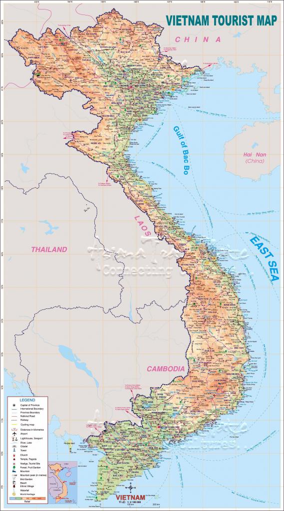 Vietnam Maps | Printable Maps Of Vietnam For Download in Printable Map Of Vietnam