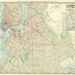 Vintage Brooklyn Street Map 1897 Rand Mcnally Wall Art Print | Etsy In Brooklyn Street Map Printable