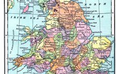 Vintage Printable – Map Of England And Wales | World Of Maps intended for Printable Map Of Wales
