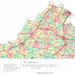 Virginia Printable Map   Virginia County Map Printable | Printable Maps Regarding Virginia State Map Printable