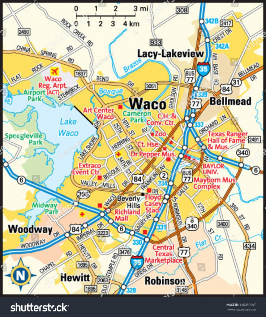 Waco Printable Tourist Map 87365 Png Filetype Png 10 Waco Texas Map pertaining to Printable Map Of Waco Texas