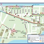 Waikiki Bus Route Map Pertaining To Printable Map Of Waikiki