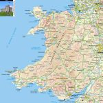 Wales Offline Map, Including Anglesey, Snowdonia, Pembrokeshire And Pertaining To Printable Map Of Wales