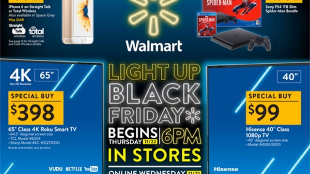 Walmart Black Friday 2018 Ad Is Out within Printable Walmart Black Friday Map