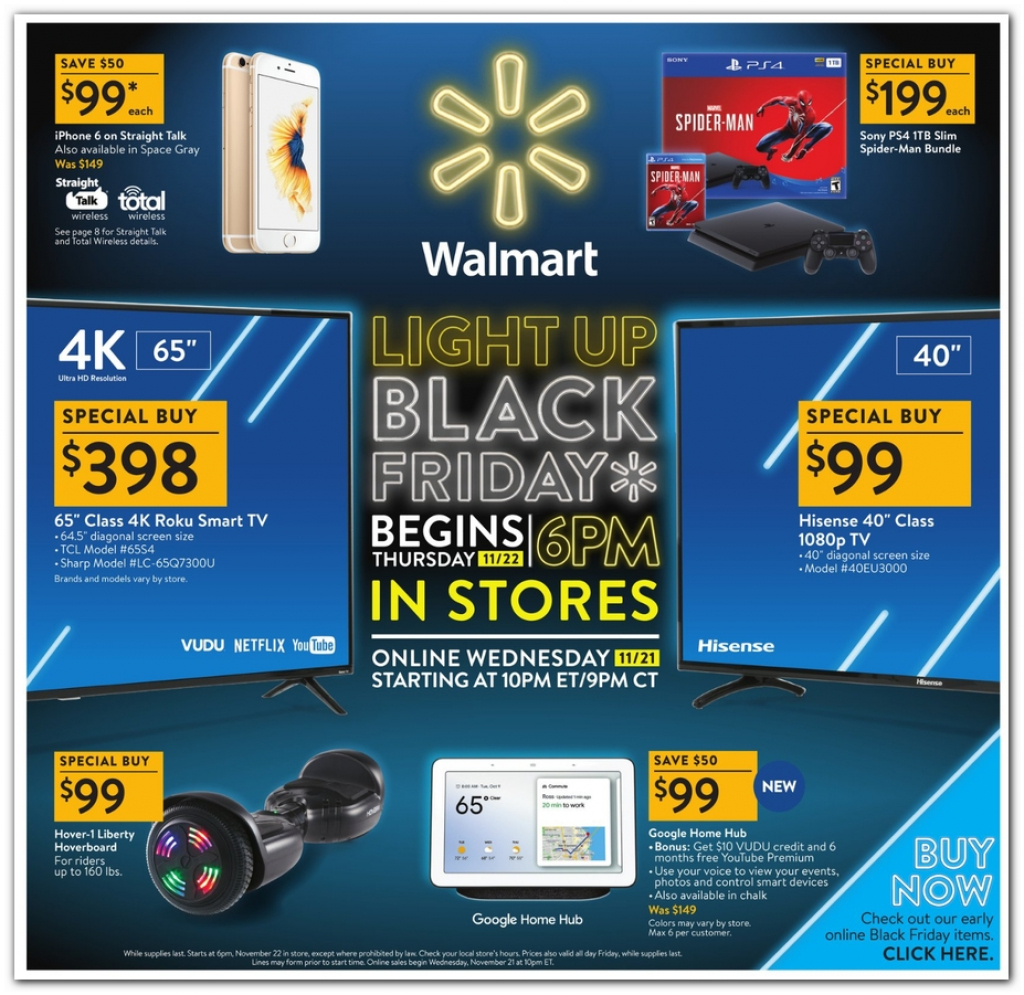 Walmart Black Friday 2019 Ad, Deals And Sales for Printable Walmart Black Friday Map