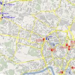 Warsaw Poland Tourist Map   Warsaw Poland • Mappery Intended For Warsaw Tourist Map Printable