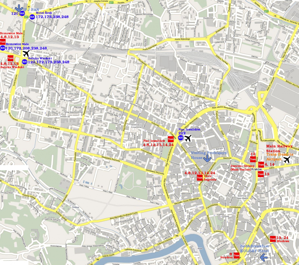 Warsaw Poland Tourist Map - Warsaw Poland • Mappery intended for Warsaw Tourist Map Printable