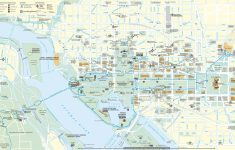 Washington Dc City Map Printable