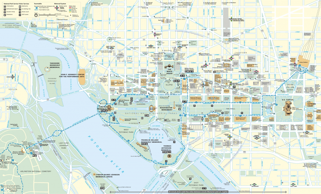 Washington, D.c. Maps | U.s. | Maps Of Washington, District Of Columbia within Washington Dc City Map Printable