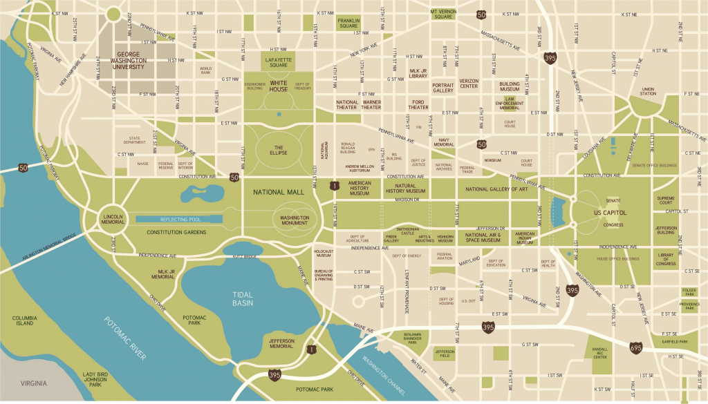 Washington, D.c. National Mall Maps, Directions, And Information in Printable Map Of The National Mall Washington Dc