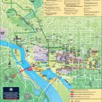 Washington, D.c. Tourist Attractions Map For Tourist Map Of Dc Printable