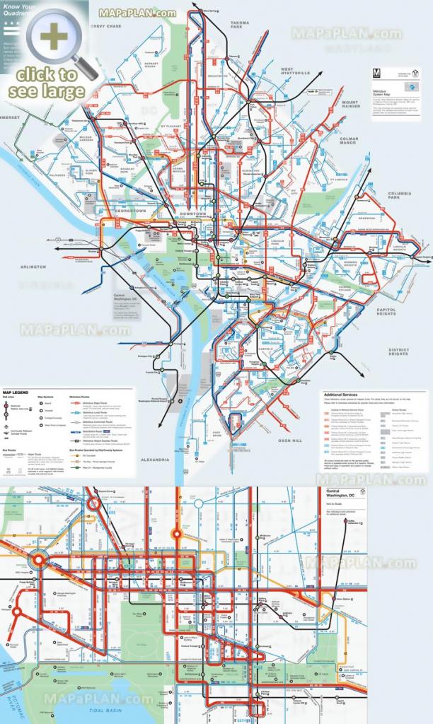 Washington Dc Maps - Top Tourist Attractions - Free, Printable City regarding Printable Map Of Downtown Dc