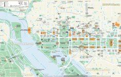 Map Of Downtown Washington Dc Printable