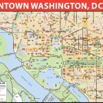 Washington Dc Printable Map And Travel Information | Download Free Regarding Washington Dc Tourist Map Printable