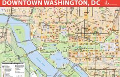 Printable Map Of Washington Dc Sites