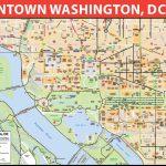 Washington Dc Printable Map And Travel Information | Download Free With Free Printable Map Of Washington Dc
