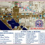 Washington Dc Tourist Map | Tours & Attractions | Dc Walkabout With Map Of Downtown Washington Dc Printable