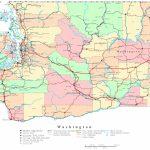 Washington Printable Map Pertaining To Printable Map Of Washington State