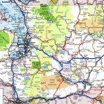 Washington Road Map Printable Maps Map Of Washington State Major Throughout Washington State Road Map Printable