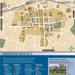 Wayfinding Downtown Map Thumbnail | Asheville, Nc | Downtown Pertaining To Printable Map Of Downtown Asheville Nc